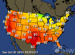 United States Weather Forecasts - Us map forecast